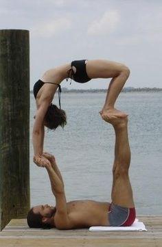 A yoga pose-2
