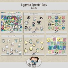 SoMa Design: Eggstra Special Day - Bundle