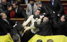 Parliament fights