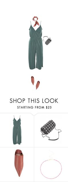 """""""Jumpsuit"""" by lsaroskyl ❤ liked on Polyvore featuring Topshop, Marni and Gucci"""