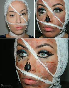 Halloween Makeup - Egyptian Mummy - Cleopatra   Amber Janelle ...