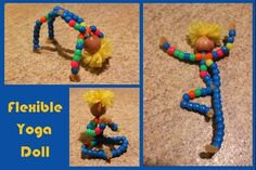 from Raising Creative Hearts: Flex Your Fine Motor Skills: How to Make a Bendable Doll