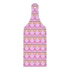CUPCAKES GLASS CUTTING BOARD BY SERENITY - GIFTS | Zazzle.com Design Your Kitchen, Dog Store, Glass Cutting Board, Corner Designs, Pink Gifts, Custom Art, Pretty In Pink, Serenity, Cupcakes