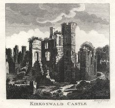 Cumbria, Kirkoswald Castle, 1801