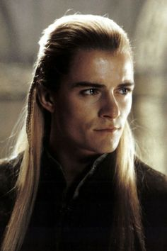 Orlando Bloom as Legolas Greenleaf in: The Lord of the Rings.