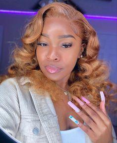 Baddie Hairstyles, Black Girls Hairstyles, Summer Hairstyles, Weave Hairstyles, Frontal Hairstyles, Fashion Hairstyles, School Hairstyles, Pretty Hairstyles, Sew In Wig