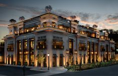 RH unveils RH Seattle, The Gallery at University Village. RH Seattle, The Gallery at University Village. Commercial Architecture, Facade Architecture, Chinese Architecture, Futuristic Architecture, Facade Design, Exterior Design, Le Riad, Facade Lighting, Beste Hotels
