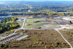 Progressive reclamation work at the David Bell Mine Extension near marathon, Ontario