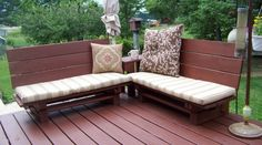 Good Ideas For You | Pallet Ideas - This website has tons of pallet furniture!!