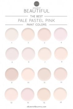 Home Interior Salas The Best Pale Pink Paint Colors Interior Salas The Best Pale Pink Paint Colors Nursery Paint Colors, Pink Paint Colors, Interior Paint Colors, Paint Colors For Home, Bedroom Colors, Wall Colors, Interior Design, Bedroom Ideas, Colors For Bedrooms