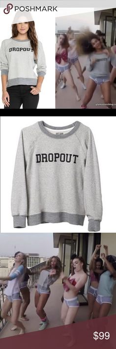 Mother Dropout Grey Sweatshirt As seen on Beyonce in her 7/11 music video. I mean....seriously. Mother Dropout sweatshirt. Sold out online (duh). Cotton blend, rib knot edges. Fits true to size. Small spot on the front (pictured).   On here to declutter,  trades. If I want something in your closet badly enough, I'll buy it  Reasonable offers always welcome! MOTHER Tops Sweatshirts & Hoodies