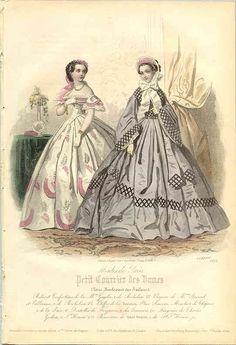 1861 - dresses