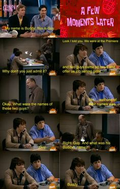 drake and josh......  guy and buddy
