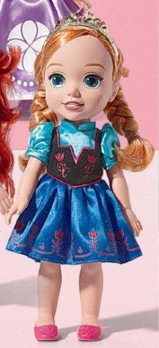 10 Mini Toddler Doll My First Disney Princess Friends Anna