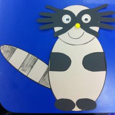 another Raccoon Craft Preschool Projects, Craft Activities For Kids, Preschool Crafts, Daycare Crafts, Craft Ideas, Kids Crafts, Letter R Crafts, Alphabet Crafts, Book Crafts