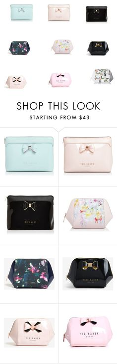 """""""Ted Baker wash and make-up bags"""" by rachael-adegpke on Polyvore featuring Ted Baker"""