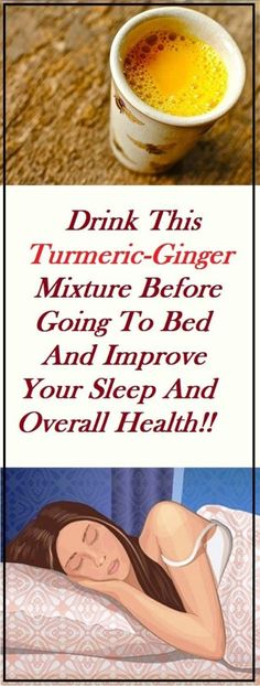 Drink This Mixture Before To Bed And Improve Your Sleep