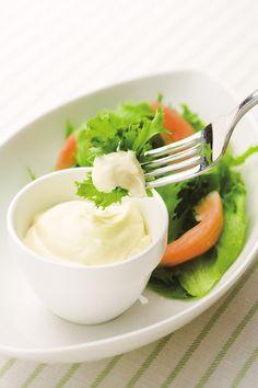 【マジックブレット】手づくりマヨネーズ|卵・サラダ油・塩・酢・練りからし・砂糖