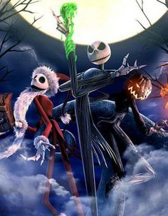 Tim Burton rumored to be developing a The Nightmare Before Christmas sequel...