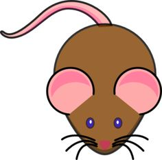 Brown Mouse Clip Art at Clker.com - vector clip art online ...