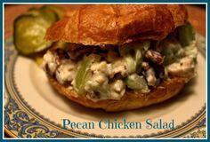 Sweet Tea and Cornbread: Mama's Pecan Chicken Salad!