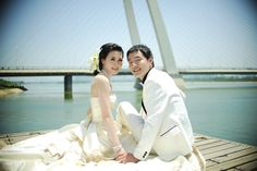 #PANDORAvalentinescontes Another wedding photo of me and my hubby form 3 years ago.
