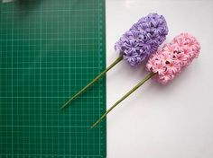 tuto Hyacinth translate from russian, step by step photo