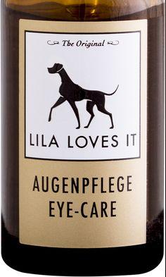 EYE CARE er utviklet av dermatologer og farmasøyter ved LILA LOVES IT fabrikken. Nøye utvalgte ingredienser som aloe vera, ringblomst, storøyentrøst sørger for en mild og skånsom fjerning av skorper og smuss rundt øynene. Ringblomst har en fantastisk egenskap som lindrer kløe, pleier huden og beroliger.      www.romeojulie.no Eyes, Doggies, Bud