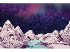 Mountains print $60