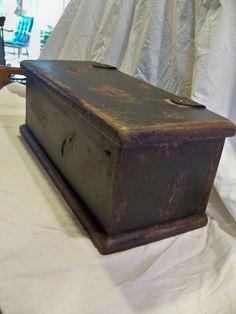Paducah Box  Primitive by TheBarnWoodshop on Etsy