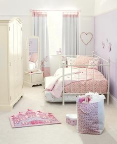 Girls Bedroom Ideas with Metal Daybed Furniture
