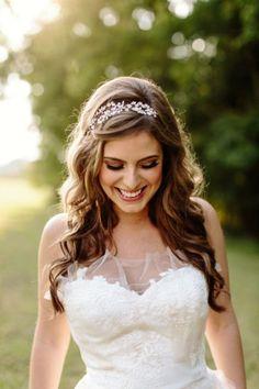 penteados para noiva cabelo solto