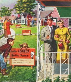 Post-war Homes of Suburbia