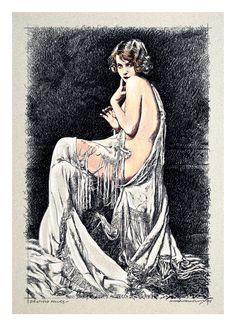 Adrienne Ames, Ziegfield Folies, estudo Marco Angeli, 2015