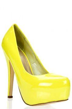 Yellow High Heels Cheap