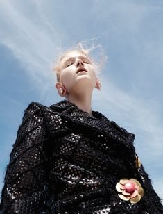 happening: maja salamon by alessio bolzoni for numéro #167 october 2015 | visual optimism; fashion editorials, shows, campaigns & more!