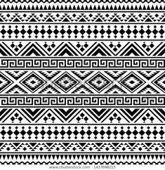 aztekisch, mexikanisch, seamless, muster clipart | k15622963 | ethnische muster, mexikanische