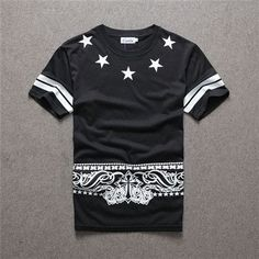 Item Type:Tops Gender:Men Sleeve Style:regular Material:Cotton,Polyester Size:Asian Size M / L / XL / XXL Hip Hop:Fashion