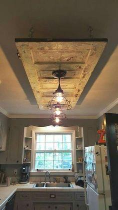 Home decor kitchen - Pretty Kitchen Ceiling Lighting Design Ideas Kitchen Ceiling Lights, Ceiling Light Design, Ceiling Lighting, Open Ceiling, Basement Lighting, Pendant Lighting, Bathroom Lighting, Kitchen Ceilings, Floors Kitchen