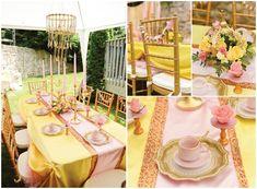 Belle Tea Party Ideas