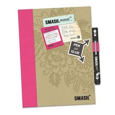 A smash book is a new trendy way to do your memory keeping. A simple DIY craft idea. I'm using an old vintage book as the start of my smash book.