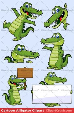 All 6 Cute Cartoon Alligator Clip Art character poses above are included in this collection! What Do You Get When You Purchase The Cartoon Alligator Vector Pack Above Cartoon Mouths, Cute Cartoon, Cartoon Clip, Alligator Crafts, Crocodile Tattoo, Inkscape Tutorials, 1970s Cartoons, Walt Disney Co, Shrink Art