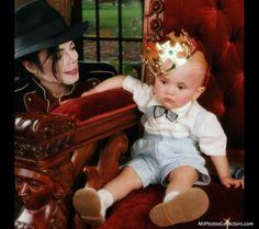 ♥ Michael Jackson ♥ & son Prince :)
