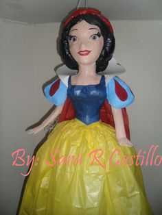 Pinata  Princess Snow White by RCityPinataNMore on Etsy, $78.00