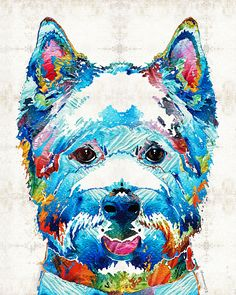 http://fineartamerica.com/featured/colorful-west-highland-terrier-dog-art-sharon-cummings-sharon-cummings.html