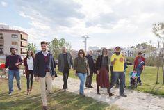 Inauguración del nuevo Parc Ausiàs March.  http://www.josemanuelprieto.es