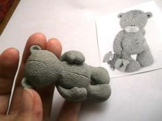 Step-by-Step Tutorial on how to make a Cute Teddy Bear in Fondant or Sugar Paste
