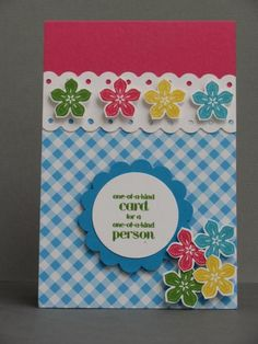 Bag of flowers by JannekeB - Cards and Paper Crafts at Splitcoaststampers