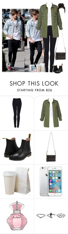 """Morning in LA with Tommo (my boyfriend)"" by jaynnelinsstyles ❤ liked on Polyvore featuring Topshop, Zara, Dr. Martens, Yves Saint Laurent, NLY Accessories, women's clothing, women, female, woman and misses"