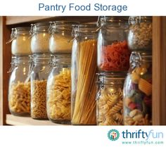 This guide is about pantry food storage. Storing food in your pantry can be challenging to keep organized and properly rotated.